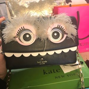 Kate spade toothy monster purse